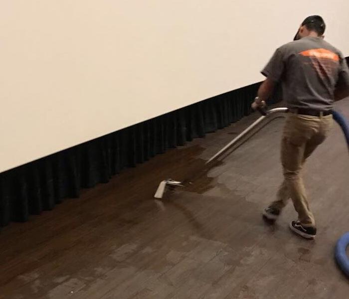 Movie theater water restoration