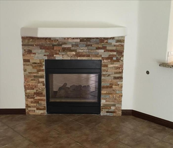 Fire Place Rebuild in Northwest Las Vegas