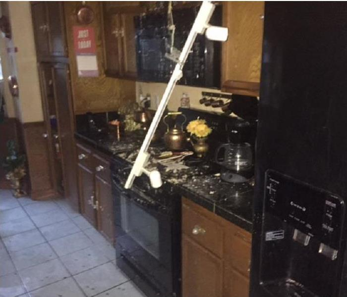 Fire Loss In Kitchen