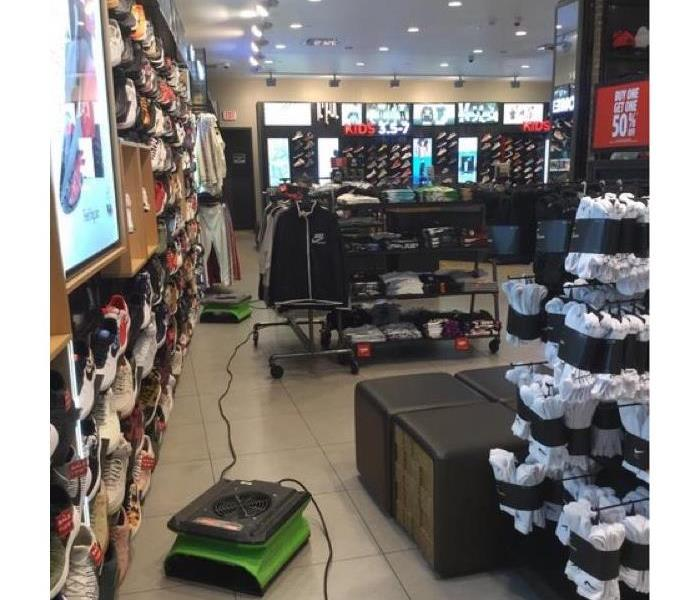 Commercial Water Loss in Foot Locker
